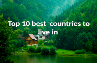 Top 10 best countries to live in
