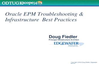 KScope14 Oracle EPM Troubleshooting