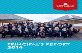 Kincoppal - Rose Bay School Principal's Report 2014