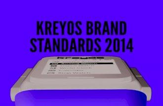 Kreyos Brand Identity Book - Kreyos Meteor Smartwatch - Wearable Technology