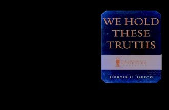 We Hold These Truths Preview