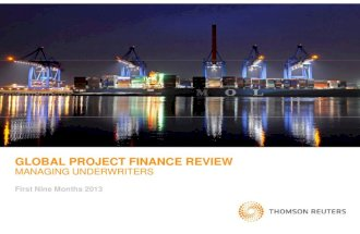3Q2013 Global Project Finance Review