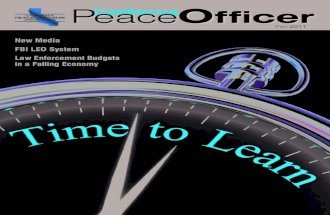 CPOA California Peace Officer Fall 2011