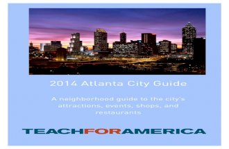 2014 Atlanta City Guide