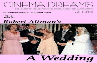 Dreams Are What Le Cinema Is For: A Wedding -1978
