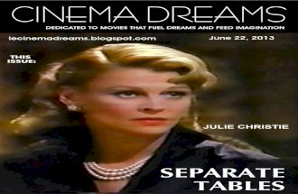 Dreams Are What Le Cinema Is For: Separate Tables -1983