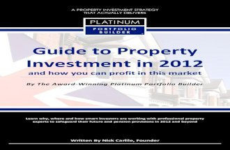 PPB Guide to Property Investment in 2012 V9