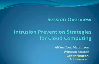 Winston morton - intrusion prevention - atlseccon2011