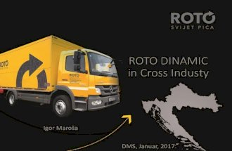 ROTO Dinamic in Cross Industry, Igor Maroša