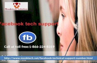 Facebook tech support 1-866-224-8319 - A Foolproof Formula to Get Resolution
