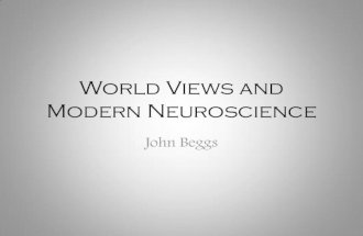 World View Implications of Neuroscience
