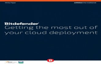 Getting the most out of your cloud deployment