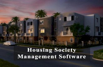 Housing society-management-software