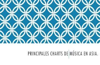 Principales charts de música en Asia.