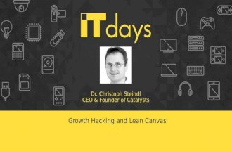 2015 11-25 growth hacking and lean canvas - new format