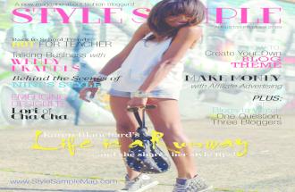 Style Sample Magazine Issue 3