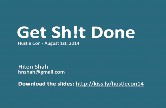 Get Sh!t Done