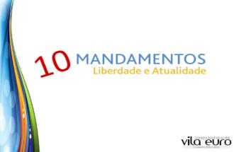 10 Mandamentos - Aula 09 - 8 mandamento