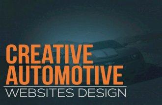 Creative Automotive Websites Design