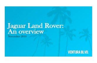 Jaguar Land Rover: An Overview