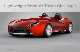 How to design a trailer for a custom sports car?