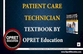 Patient care technician book  patient care book