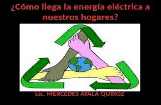 C³mo llega la energa el©ctrica a nuestros