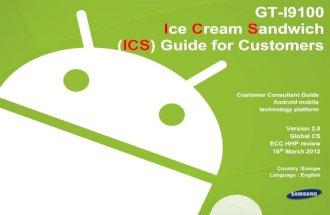 Samsung Galaxy S2 Actualizaci³n Android 4.0 Ice Cream Sandwich - GABATEK - Tecnologa