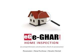 E ghar pre purchase home inspection