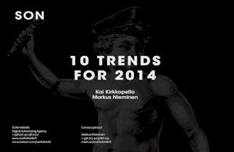 Future trends 2014