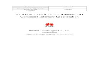 Huawei at Commands