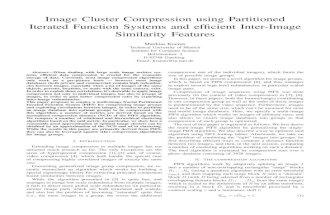 Image Cluster Compression