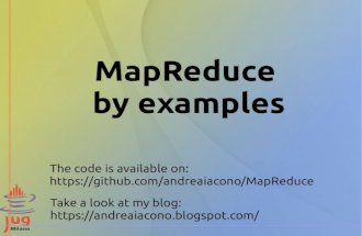 MapReduce by examples