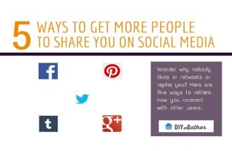 5 Ways for Authors to Get More Shares on Social Media
