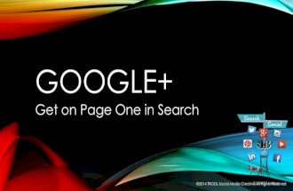 Social buzzclub Get on Page One in Google Search with Google+