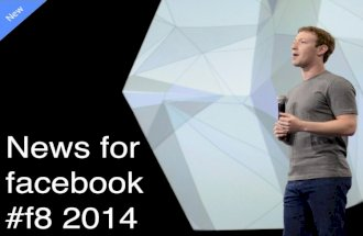 News for facebook #f8 2014