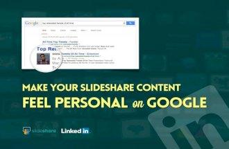 G+ Authorship on SlideShare