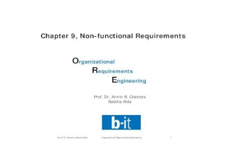 09 Non-Functional Requirements