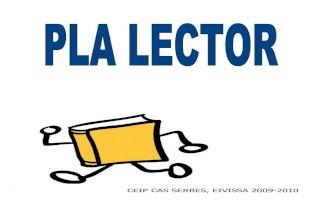 PLA LECTOR al CEIP CAS SERRES