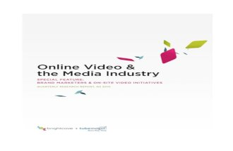 Brightcove whitepaper-online-video-and-media-industry-q2-2010