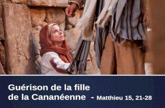 Diaporama J©sus et la Canan©nne