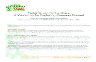 Foster Green Partnerships
