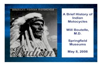 A Brief History of Indian Motorcycles