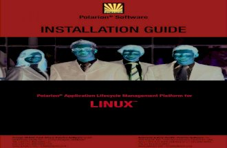 Polarion Install Guide Linux