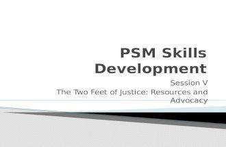 Psm skills development session v, 7 2014