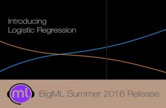 BigML Summer 2016 Release