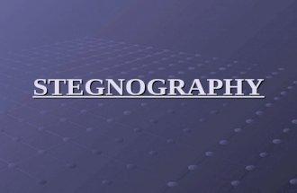 Stegnography